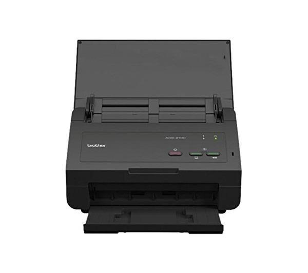 BROTHER ADS-2100e - Scanner de documents - Recto-verso - 215.9 x 863 mm - 600 ppp x 600 ppp - jusqu'à 24 ppm (mono) / jusqu'à 24 ppm (couleur) - Chargeur automatique de documents ( 50 feuilles ) - jusqu'à 1500 pages par jour - USB 2.0, USB 2.0