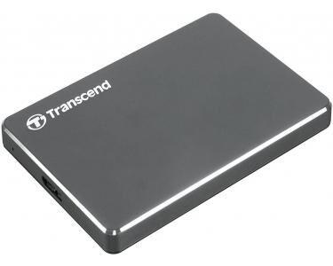 TRANSCEND StoreJet 25C3 3.0 (3.1 Gen 1) 1000Go Aluminium