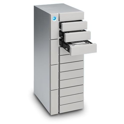 LACIE 12big Thunderbolt 3 12000Go Bureau Argent boîtier de disques