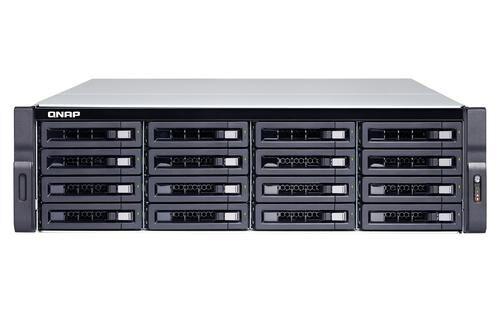 QNAP TS-1673U-RP NAS Rack (3U) Ethernet/LAN Noir