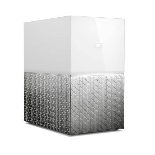 WESTERN DIGITAL My Cloud Home Duo dispositif de stockage cloud personnel 12 To Ethernet/LAN Blanc