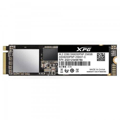 ADATA XPG ASX8200PNP-256GT-C disque SSD 256 Go PCI Express 3.0 M.2