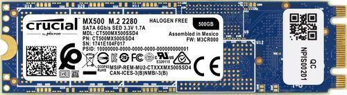 CRUCIAL MX500 500 Go M.2