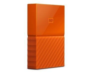 WESTERN DIGITAL My Passport 2000Go Orange disque dur externe