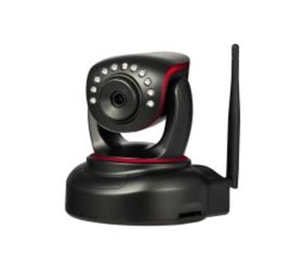 CONCEPTRONIC Wireless Pan&Tilt; Cloud IP Camera - Caméra de surveillance réseau - couleur ( Jour et nuit ) - Wi-Fi - 10/100 - AVI, H.264
