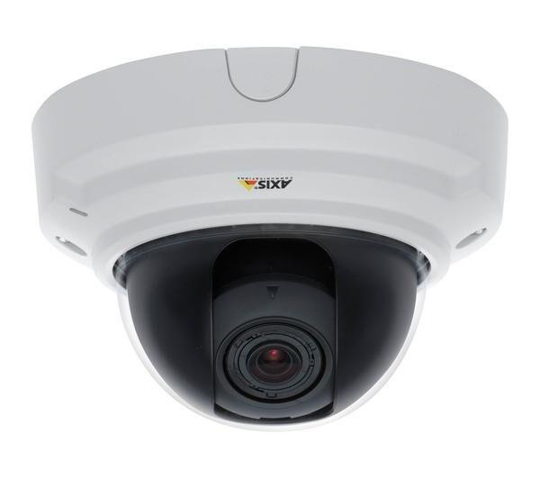 AXIS P3364-V 6mm - Caméra réseau - dôme - à l'épreuve du vandalisme - couleur ( Jour et nuit ) - à focale variable - audio - 10 100 - PoE