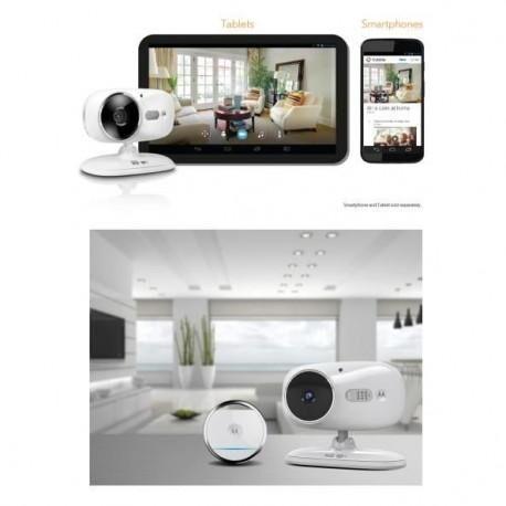 MOTOROLA Caméra de surveillance Focus 86 TAG connectée avec capteur d'ouverture
