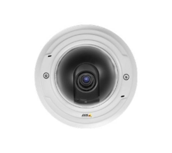 AXIS P3367-V Network Camera - Caméra CCTV réseau - dôme - à l'épreuve du vandalisme - couleur ( Jour et nuit ) - 5 MP - 2592 x 1944 - diaphragme automatique - à focale variable - audio - 10/100 - MJPEG, H.264 - PoE