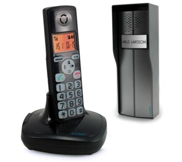 AVIDSEN Interphone sans fil avec fonction t?phone