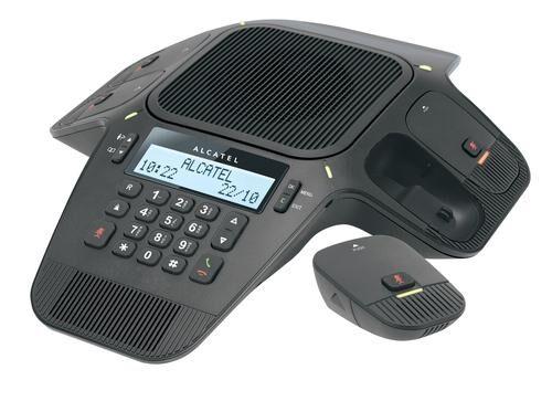 ALCATEL Conference 1800 Téléphone DECT Noir Identification de l'appelant