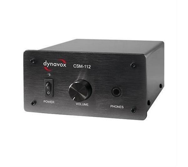 DYNAVOX Amplificateur pour casque Noir