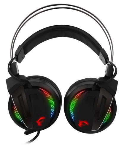 MSI Immerse GH70 Casque audio Binaural Bandeau Noir