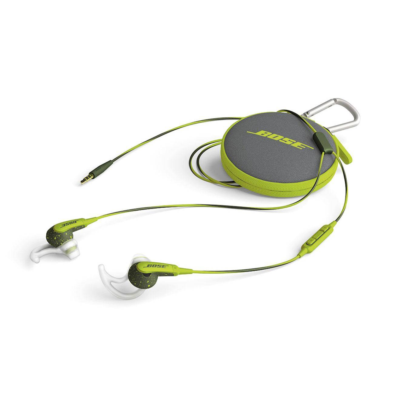 HMDX AUDIO Écouteurs sport intra-auriculaires SoundSport Apple Vert avec télécommande et micro pour appareils Apple