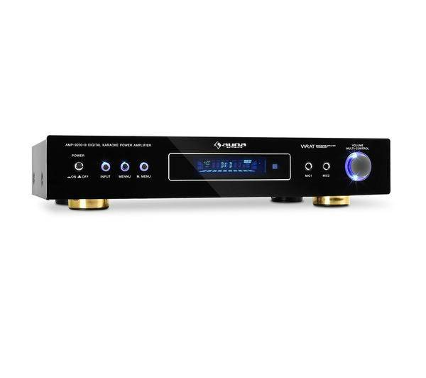 AUNA AMP-9200 Ampli Surround Hifi Home cinema 5.1 design 600W noir
