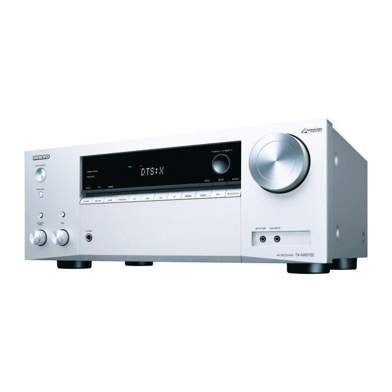 ONKYO TX-NR575E-S 7 135 W argent - Recepteur audio vidéo 7.2