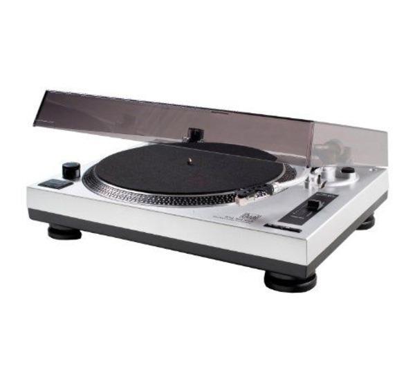 DUAL Tourne-disque USB silver DTJ 301-Audio PC