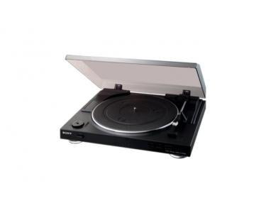 SONY PSLX300USB Belt-drive audio turntable Noir, Argent platine