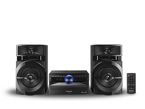 PANASONIC SCUX100EK ensemble audio pour la maison Système mini audio domestique Noir 300 W