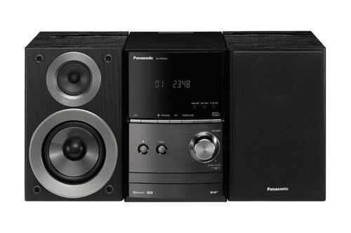 PANASONIC SC-PM602EG Système micro audio domestique Noir 40 W