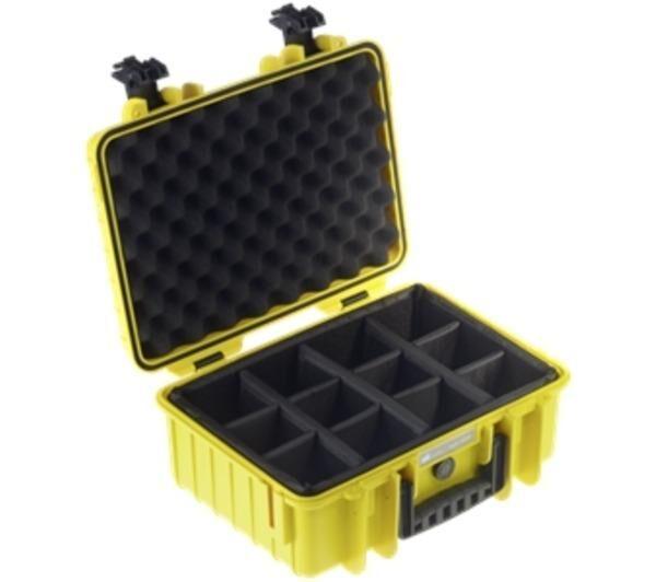 B+W international type 4000 jaune incl. séparation rembourré