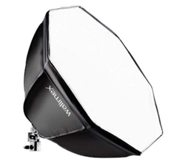 WALIMEX daylight 250 + diffuseur octagon, diamètre 55 cm