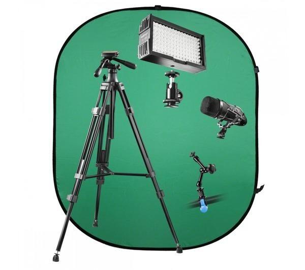 WALIMEX Trepieds Video et Supports pro V-Log Set 1