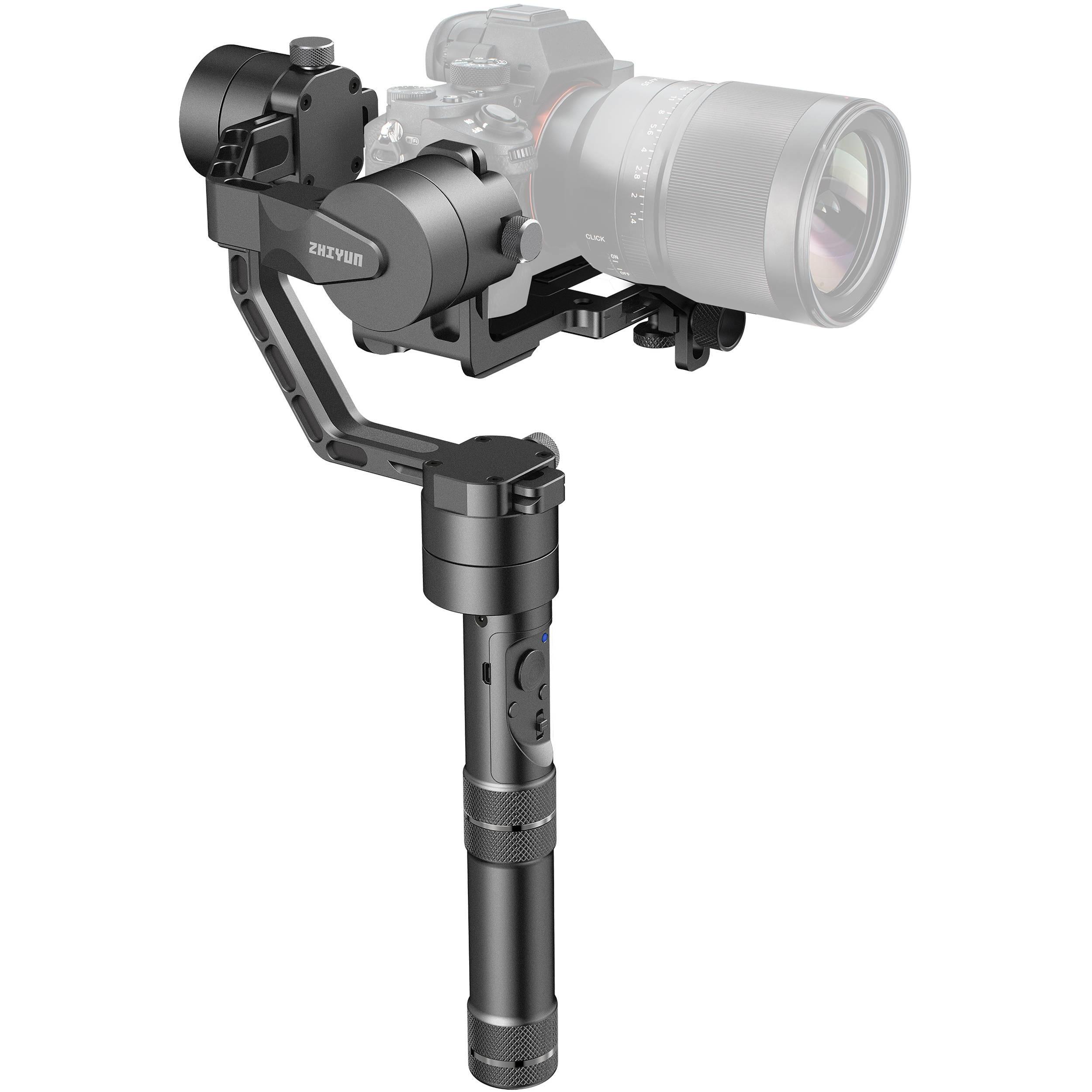 ZHIYUN TECH Crane 2 Stabilisateur de caméra portative Noir