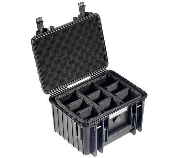 NONAME Valise photo avec séparateur - Outdoor Case Type 2000 noir