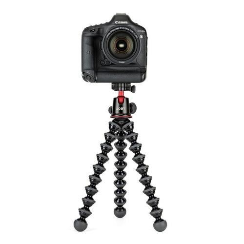 JOBY GorillaPod 5K Kit trépied Caméras numériques 3 pieds Noir