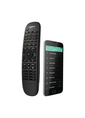 LOGITECH Harmony Companion télécommande IR Wireless/Wi-Fi Noir Appuyez sur les boutons