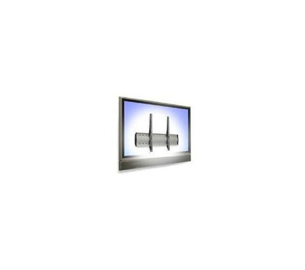 ERGOTRON 60-604-003 'wm low profile wall mount' kit de montage mural (plaque murale, attaches, 2 supports) pour écran plasma/ lcd 32' et +, matériau aluminium, acier, couleur argent