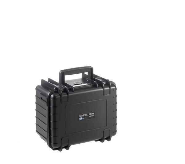NONAME Valise photo, insert en mousse Outdoor Case Type 2000 noir