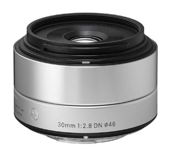 SIGMA Art 30 mm f/2,8 DN silver - Objectif pour Panasonic/Olympus