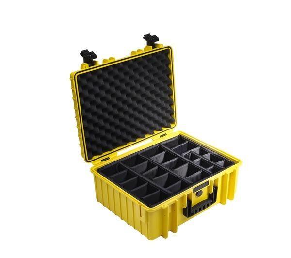 NONAME Valise photo avec séparateur Outdoor Case Type 6000/Y/RPD
