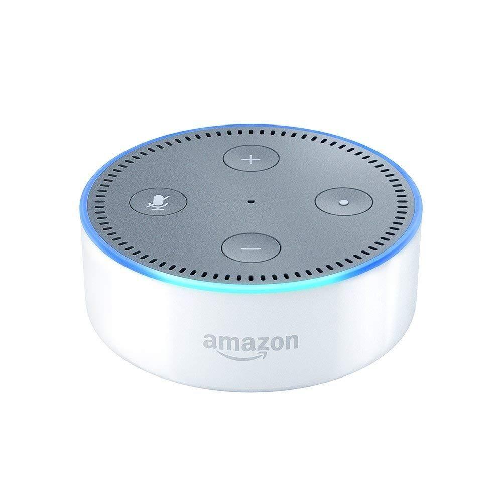 AMAZON Haut-parleur intelligent Echo Dot (2e génération) avec Alexa White