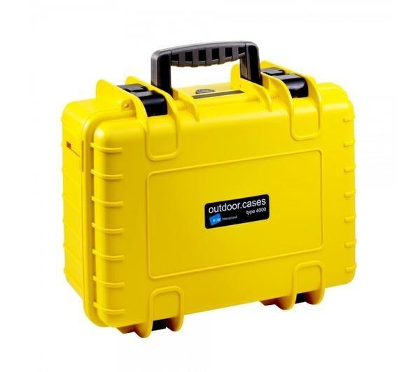NONAME Valise photo avec insert en mousse Outdoor Case Type 4000 jaune (4000/Y/SI)