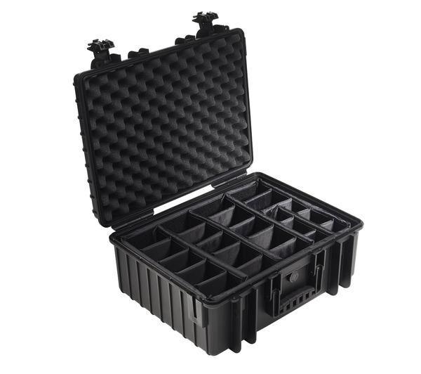 NONAME Valise photo avec séparateur Outdoor Case Type 6000/B/RPD