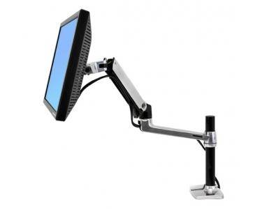 ERGOTRON LX Series Desk Mount LCD Arm, Tall Pole