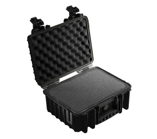 B+W Valise avec Insert mousse prédécoupé pour Appareil photo Outdoor Case Type 3000 noir