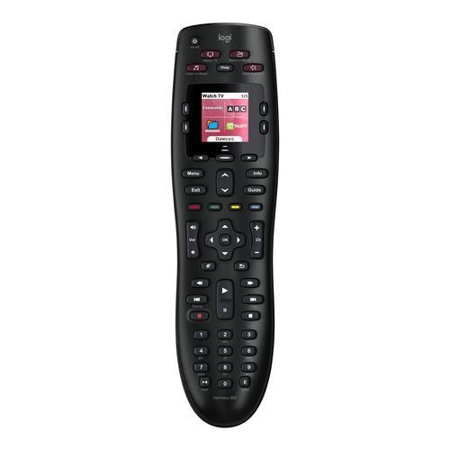 LOGITECH Harmony 665 télécommande IR Wireless Noir Appuyez sur les boutons