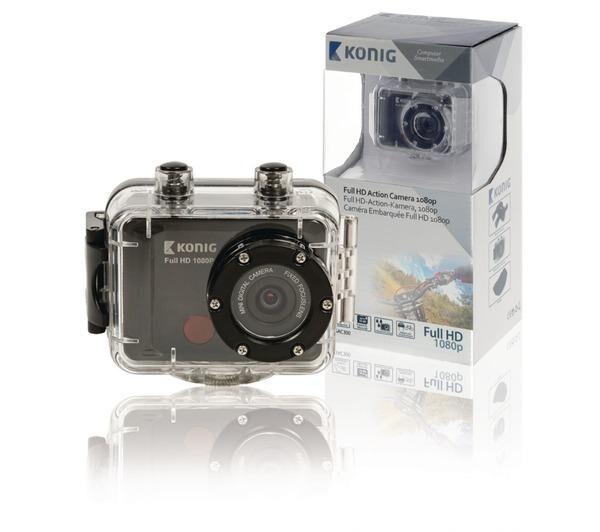 IBERIA PC Caméra embarquée Full HD 1080P avec boîtier étanche