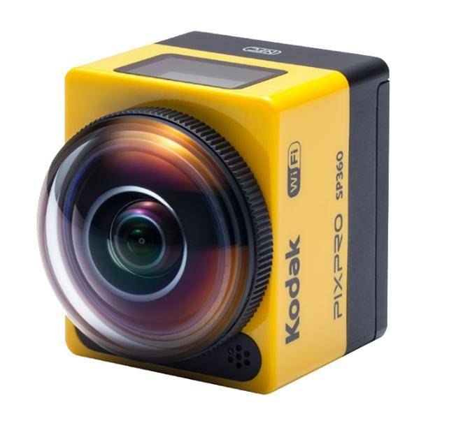"KODAK PixPro SP360 Aqua Sport Pack caméra pour sports d'action Full HD CMOS 17,52 MP 25,4 / 2,33 mm (1 / 2.33"") Wifi 103 g"