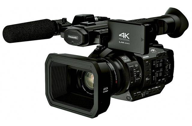PANASONIC AG-UX180 9,46 MP MOS Shoulder camcorder Noir 4K Ultra HD