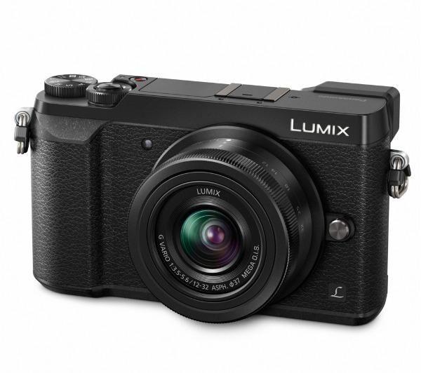 PANASONIC Lumix DMC-GX80 - noir - Appareil photo numérique + objectif H-FS12035 12-32 mm