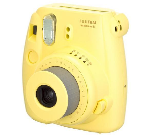 FUJIFILM Appareil instantané Instax MINI 8 jaune