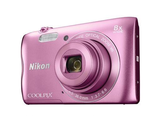 """NIKON COOLPIX A300 Appareil-photo compact 20,1 MP 1/2.3"""" CCD (dispositif à transfert de charge) 5152 x 3864 pixels Rose"""