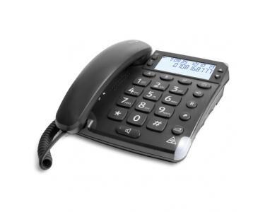 DORO Magna 4000 Analog telephone Identification de l'appelant Noir