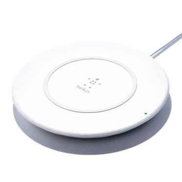 BELKIN F7U027VFWHT chargeur de téléphones portables Intérieur Argent, Blanc