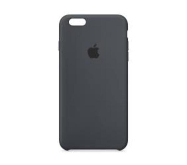 APPLE Coque de protection pour téléphone portable - silicone - gris charbon - pour iPhone 6 Plus, 6s Plus