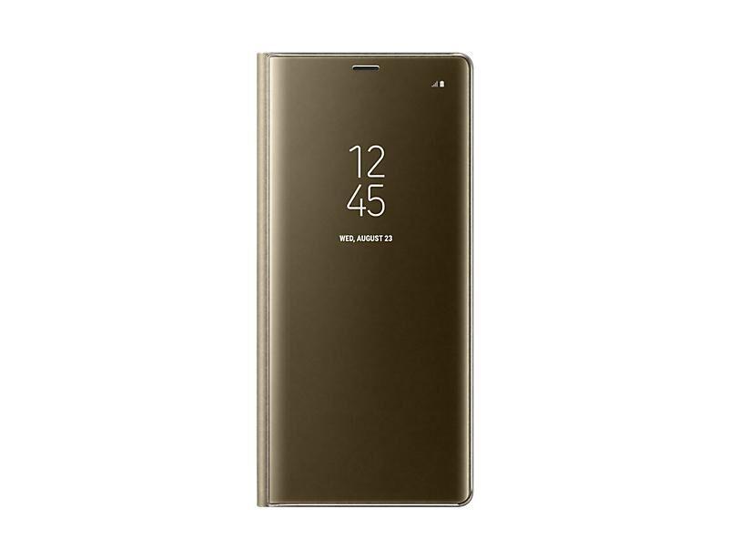 "SAMSUNG EF-ZN950 coque de protection pour téléphones portables 16 cm (6.3"") Folio porte carte Or"